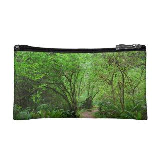 Trail in Redwood Forest Makeup Bag