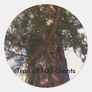 Trail of 100 Giants Sticker