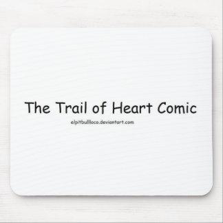 Trail of Heart Comic Mug Mouse Pads