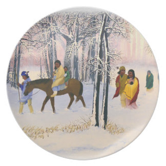 Trail of Tears Fine Art Collectors Plate