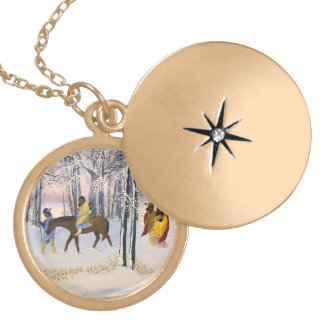 Trail of Tears Fine Art Locket