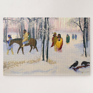 Trail of Tears Fine Art Puzzle