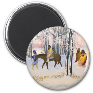 Trail of Tears Fine Art refrigerator magnet
