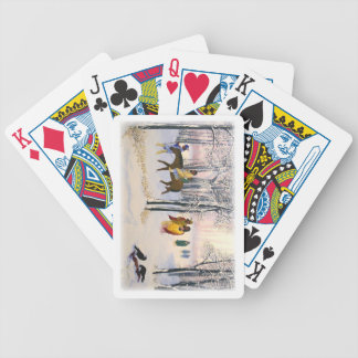 Trail of Tears Fine Art set of playing cards. Bicycle Playing Cards