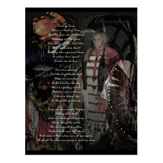 trail of tears postcard