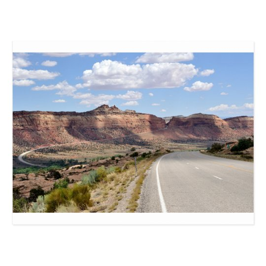 Trail of the Ancients Scenic Byway - Utah Postcard