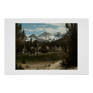 Trail to Morgan Pass. High Sierra Poster