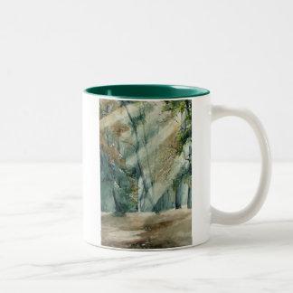 trail Two-Tone coffee mug