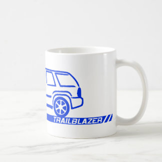 Trailblazer Blue Truck Coffee Mug