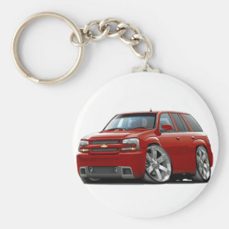 Trailblazer Red Truck Keychain