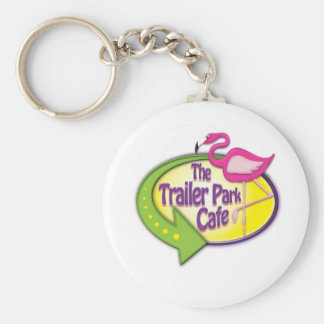 Trailer Park Cafe Logo Products Key Chain