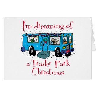 Trailer Park Christmas Card