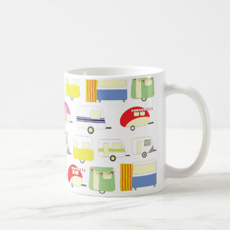 Trailer Park Colorful Pattern Coffee Mug