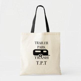 Trailer Park Trash Budget Tote Bag