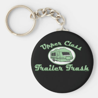 Trailer Trash Keychain