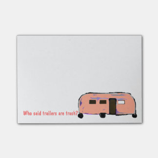 Trailer Trash Post-it Notes