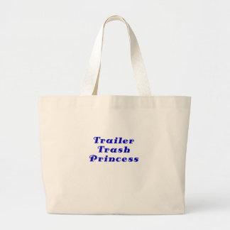 Trailer Trash Princess Tote Bags