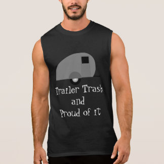 trailer trash sleeveless shirt