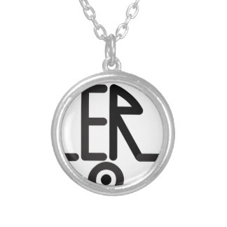 Trailer Truck Silver Plated Necklace