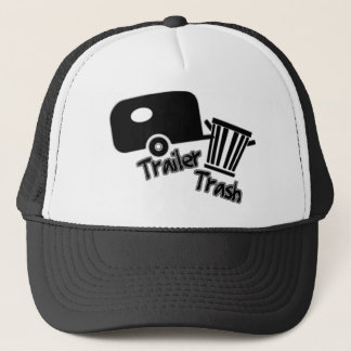 Trailerpark Living!  Funny Trailer Trash Icons Trucker Hat
