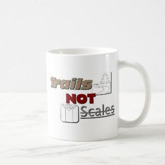 """""""Trails NOT Scales"""" Classic Mug"""