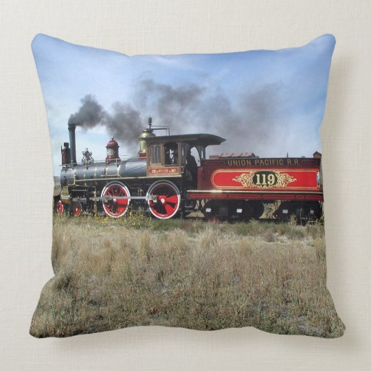 Train 17-20 Image Options Pillow