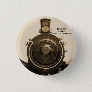 Train 1 Inch Round Button