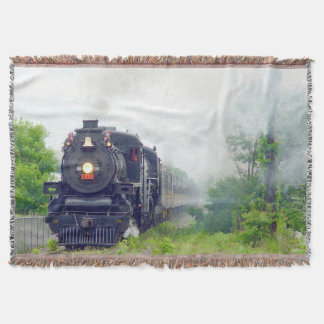 Train 23 Throw Blanket