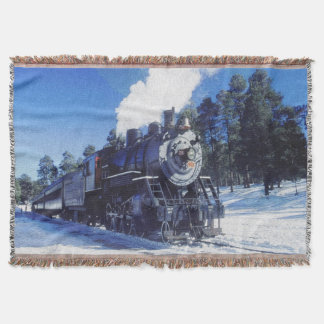 Train 3 Throw Blanket