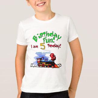 Train 5th Birthday Tshirts and Gifts