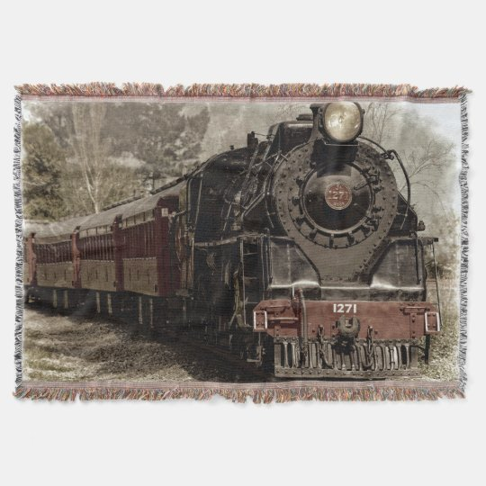 Train 6 Throw Blanket