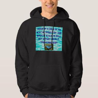 train a child mens hoodie