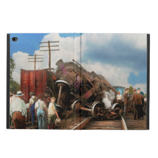 Train - Accident - Butting heads 1922 Powis iPad Air 2 Case