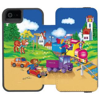 train and car incipio watson™ iPhone 5 wallet case