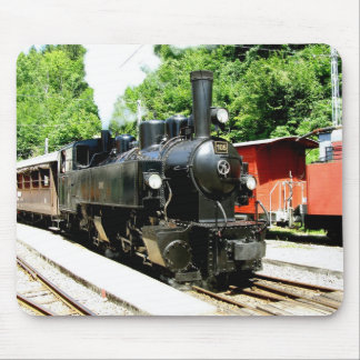 Train at Chamby railway museum Mouse Pad