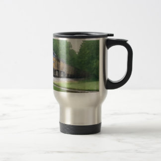 train at Deming Travel Mug