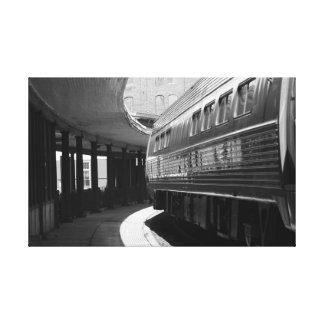 Train at the Station Canvas Print