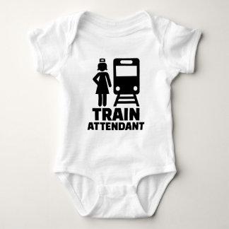 Train attendant baby bodysuit