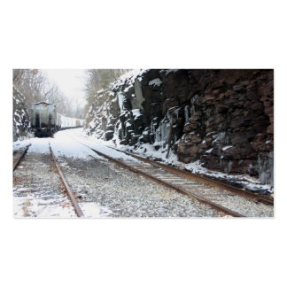 Train By The Rocks Business Card
