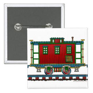 Train Caboose Car Railroad Pins