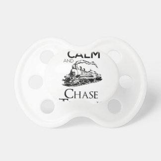 train chase design cute pacifier