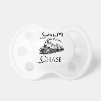 train chase design cute pacifiers
