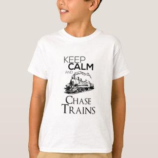 train chase design cute T-Shirt