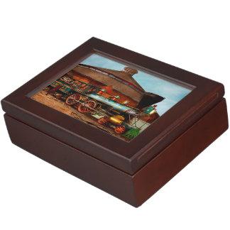 Train - Civil War - General Haupt 1863 Keepsake Box