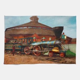 Train - Civil War - General Haupt 1863 Kitchen Towel