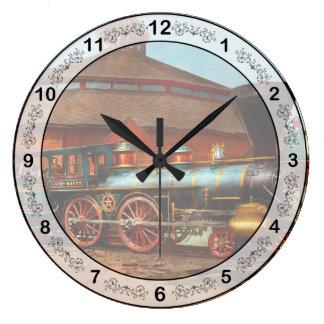 Train - Civil War - General Haupt 1863 Large Clock