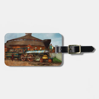Train - Civil War - General Haupt 1863 Luggage Tag