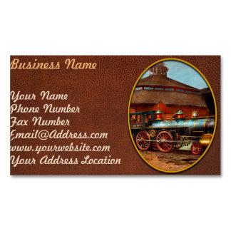 Train - Civil War - General Haupt 1863 Magnetic Business Card