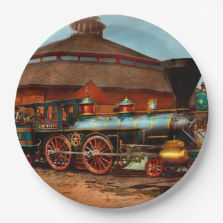 Train - Civil War - General Haupt 1863 Paper Plate