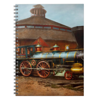 Train - Civil War - General Haupt 1863 Spiral Notebook